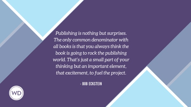 Publishing is nothing but surprises. The only common denominator with all books is that you always think the book is going to rock the publishing world. That's just a small part of your thinking but an important elem