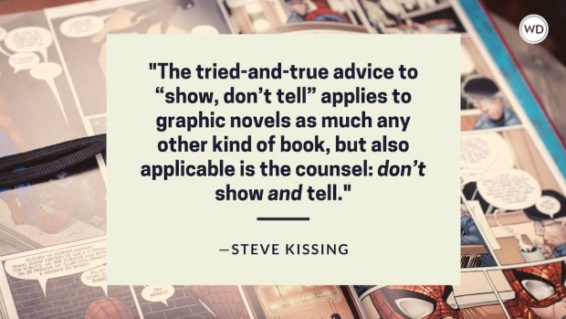 Writing and Publishing Graphic Novels from Start to Finish