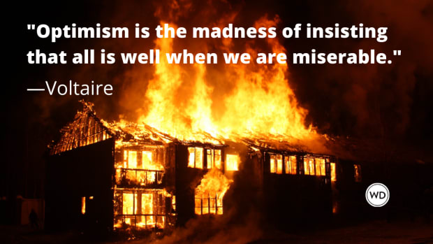 Voltaire Quotes | Optimism is the madness of insisting that all is well when we are miserable.