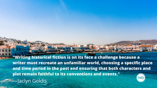 6 Tips for Confidently Writing Historical Fiction, by Jaclyn Goldis