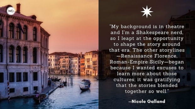 Nicole Galland: On Returning to Familiar Characters