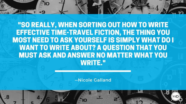 Writing All the Times: 6 Things to Ask Yourself About Your Time-Travel Story