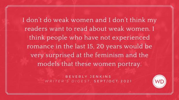 Beverly Jenkins | romance writing