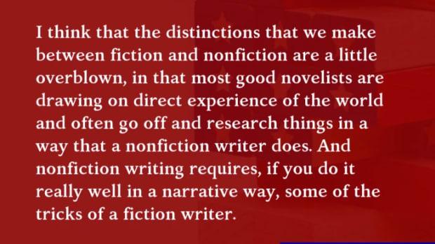Michael Lewis Interview | Immersive Nonfiction and Idea Generation