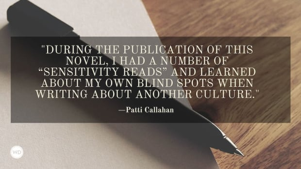 Patti Callahan: On Writing About Another Culture