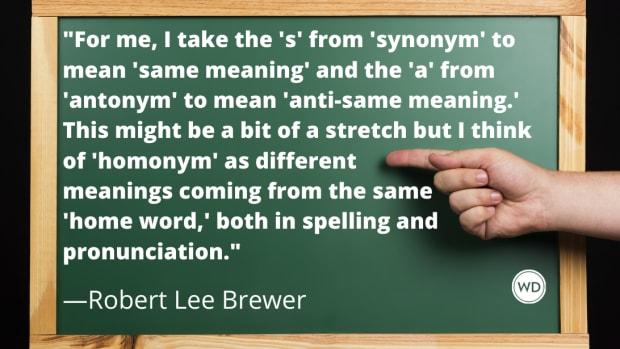 Synonym vs. Antonym vs. Homonym (Grammar Rules)
