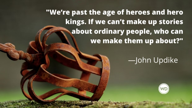 John Updike quotes | We're past the age of heroes and hero kings.