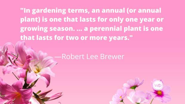 Annual vs. Perennial (Grammar Rules)