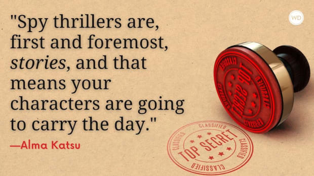 5 Tips for Writing a Spy Thriller Novel