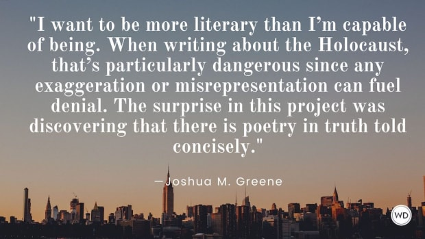 Joshua M. Greene: On Balancing Poetry and Conciseness in Biographies