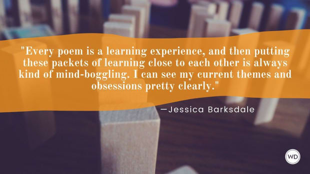 Jessica Barksdale: On How Every Poem Is a Learning Experience
