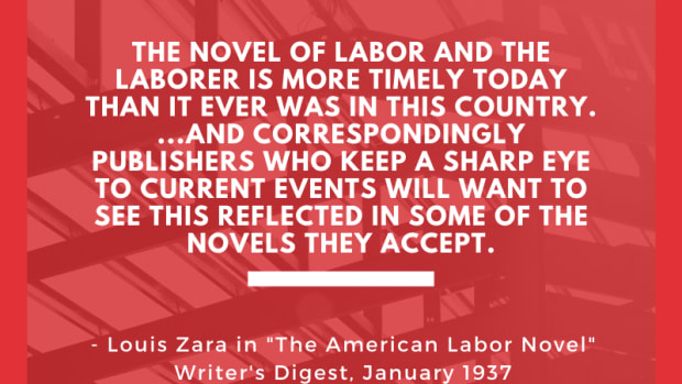American Labor Novel