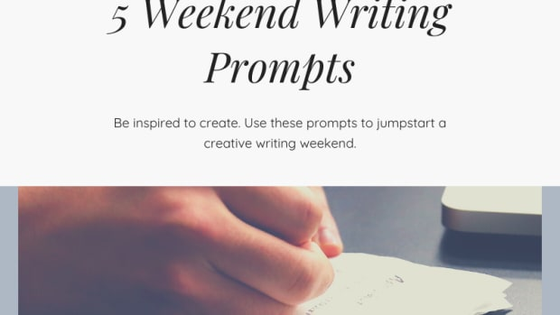 weekend writing prompts