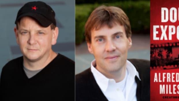 Smallville creators Miles Millar and Al Gough's novel Double Exposure.