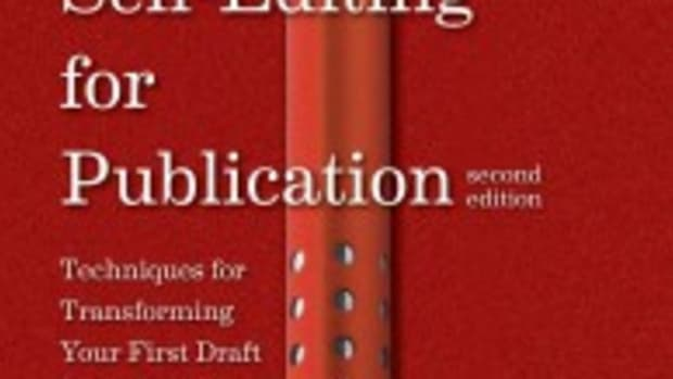 self-editing book for writers