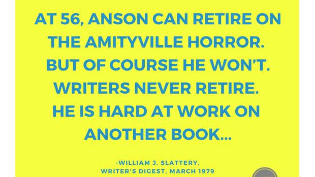 Amityville Horror | Jay Anson Profile