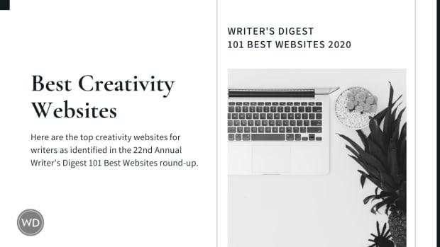 1 Writer's Digest 101 Best Websites 2020-Creativity