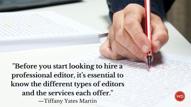 What Are the 6 Different Types of Editing?