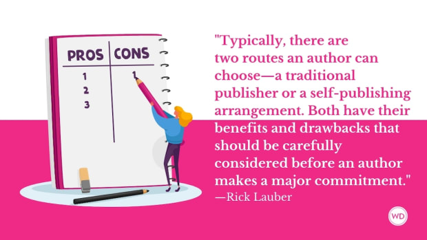 17 Pros and Cons of Traditional Publishing vs. Self-Publishing