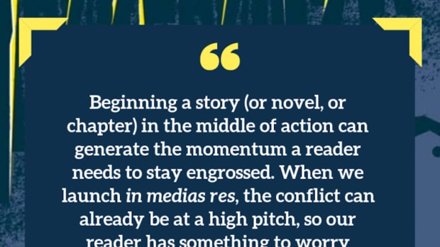 Begin from the Middle: How to Start Your Story In Medias Res