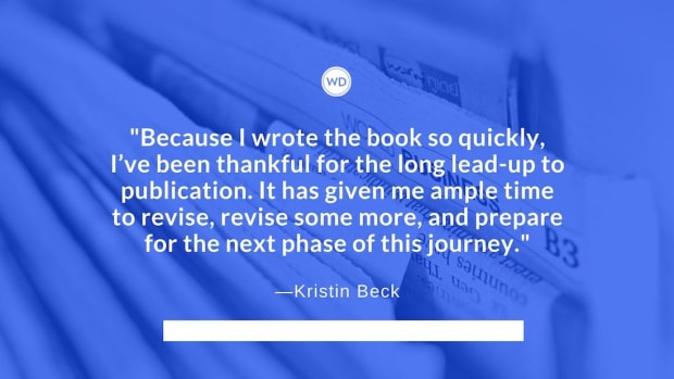 Kristin Beck: On Writing Quickly and Publishing Slowly