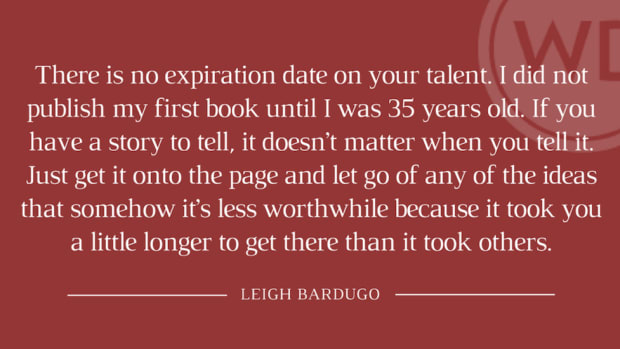 Unstoppable: YA Fantasy Author Leigh Bardugo on World-Building and Having Faith in Your Abilities   The WD Interview