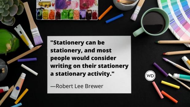 Stationary vs. Stationery (Grammar Rules)