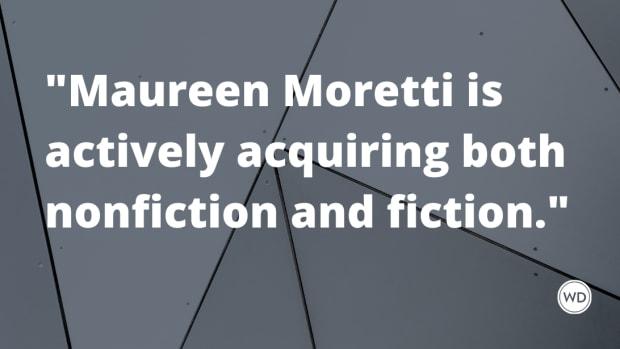 New Literary Agent Alert: Maureen Moretti of P.S. Literary