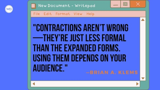 Can I Use Contractions in My Writing?