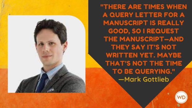 Literary Agent Interview: Mark Gottlieb of Trident Media Group