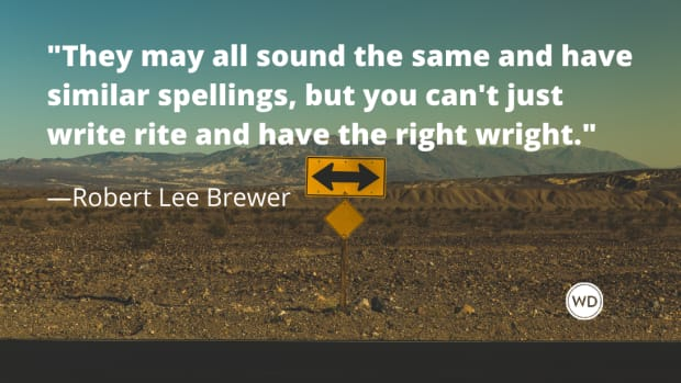 Right vs. Rite vs. Wright vs. Write (Grammar Rules)