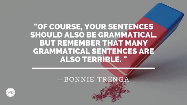 The Four Commandments of Writing Good Sentences