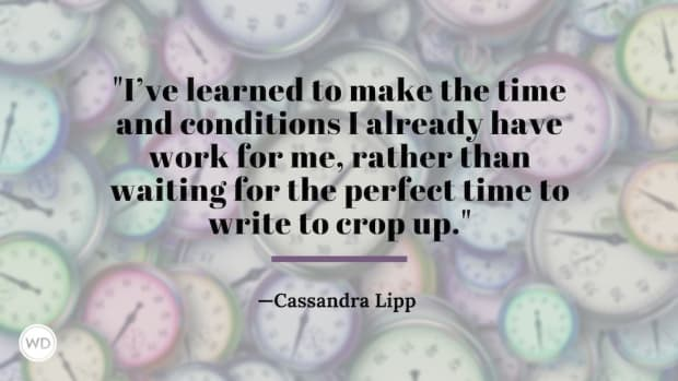 Mistakes Writers Make: Not Using Your Spare 15 Minutes