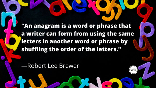What Is an Anagram in Writing?