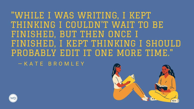Kate Bromley: On Deciding When a Book Is Finished