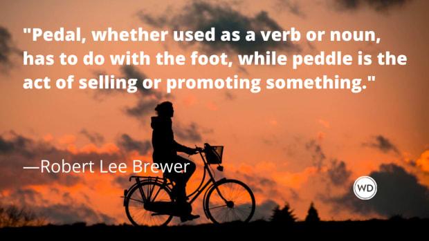 Pedal vs. Peddle (Grammar Rules)