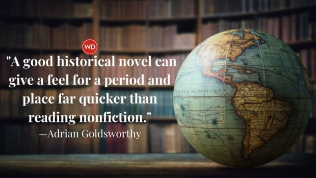 Adrian Goldsworthy: On Escaping Into Historical Fiction