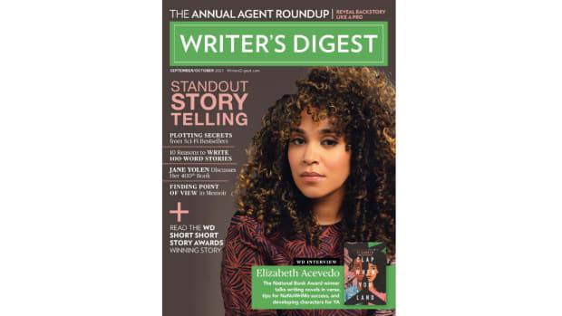 Writer's Digest September/October 2021 Cover Reveal