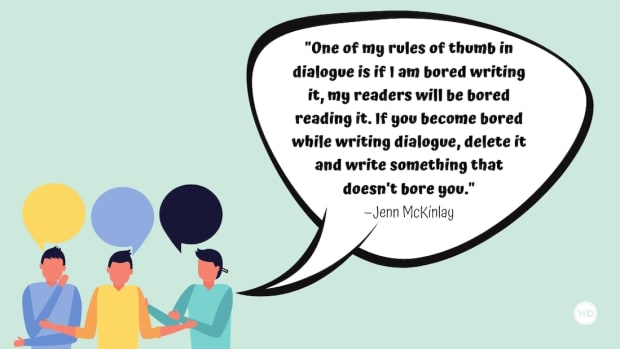 Say What? Five Fast Tips for Writing Authentic Dialogue
