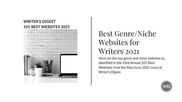 Writer's Digest's Best Genre/Niche Websites 2021