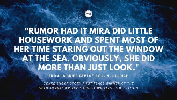 """Writer's Digest 90th Annual Competition Genre Short Story First Place Winner: """"A Brief Cameo"""""""