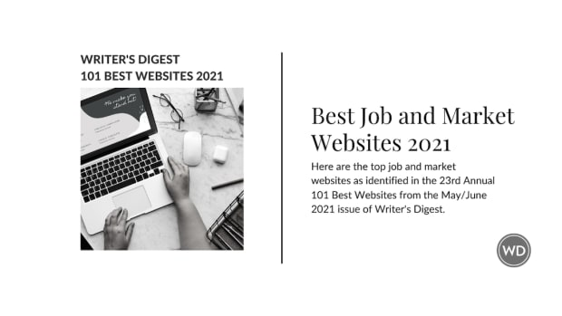 Writer's Digest Best Job and Market Websites 2021