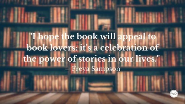 Freya Sampson: On Books for Book Lovers