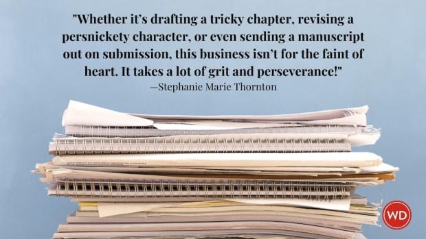 Stephanie Marie Thornton: One How an Entire Rewrite Added Suspense