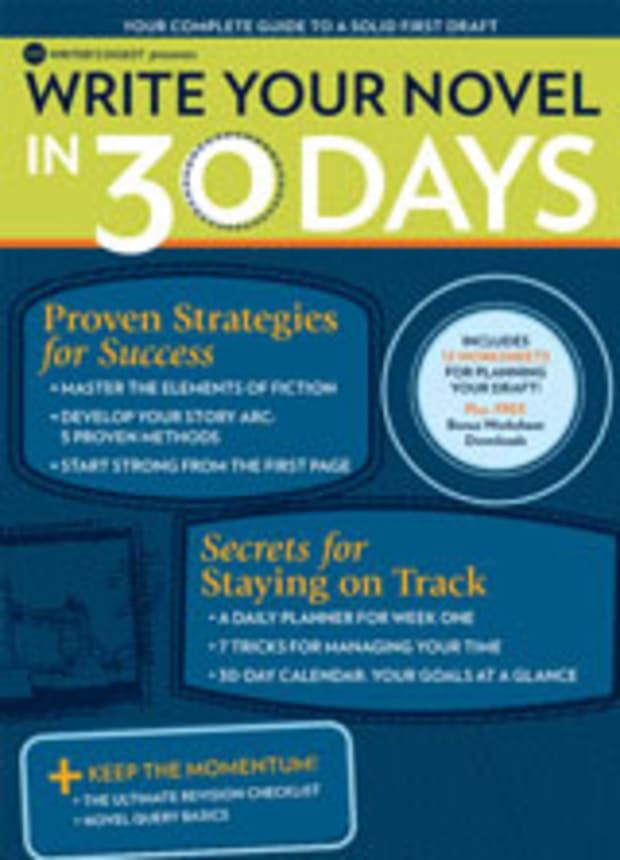 Novel In 30 Days Worksheet Index - Writer's Digest