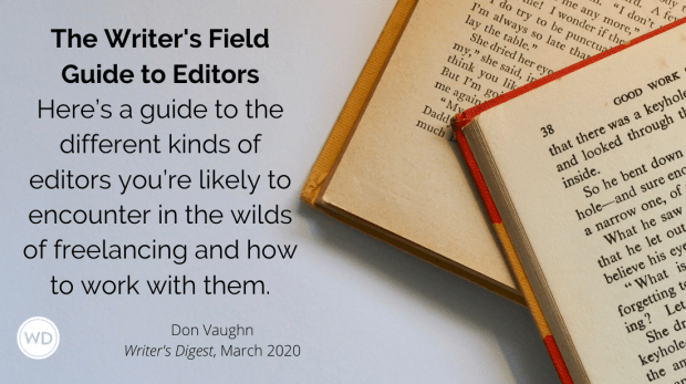 writers field guide to editors - The Writer's Field Guide to Editors
