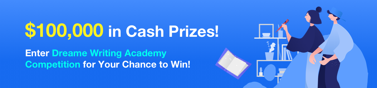Dreame Writing Academy Banner