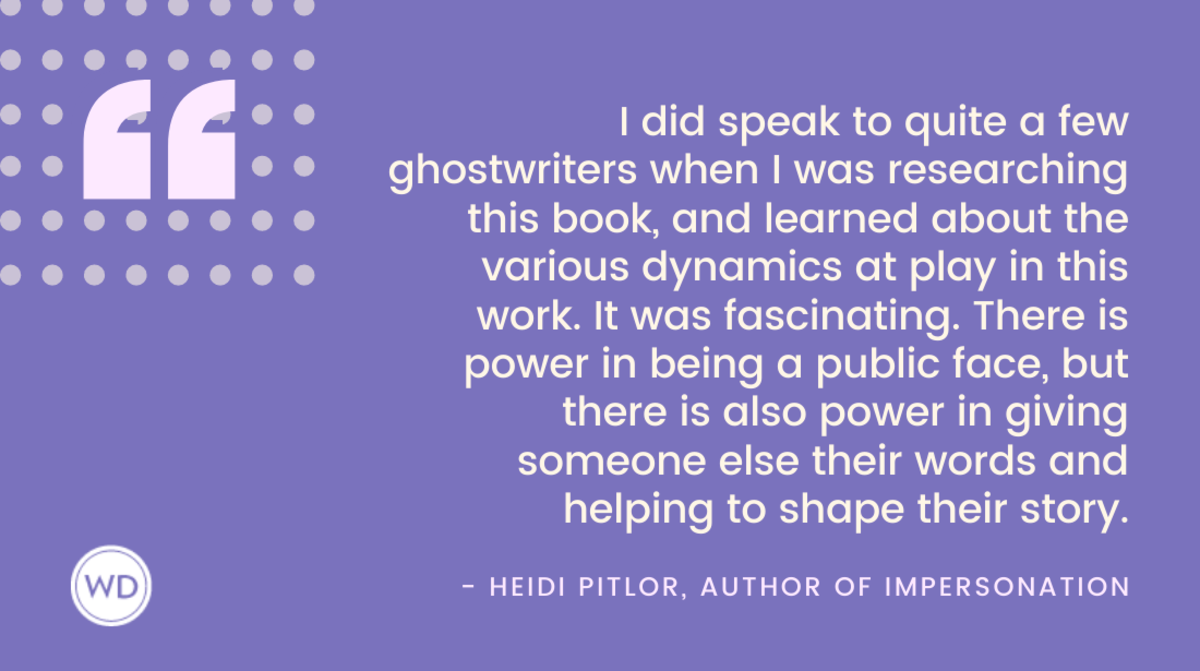 Heidi Pitlor Quote