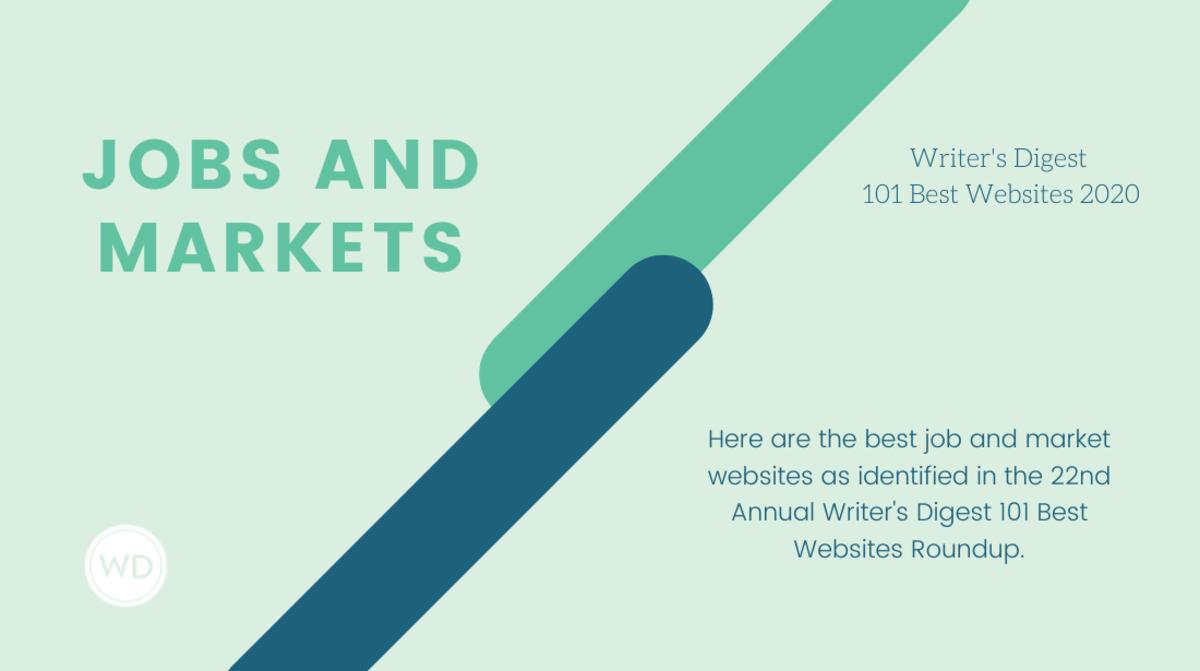 Writer's Digest Best Job and Market Websites 2020 - Writer's Digest