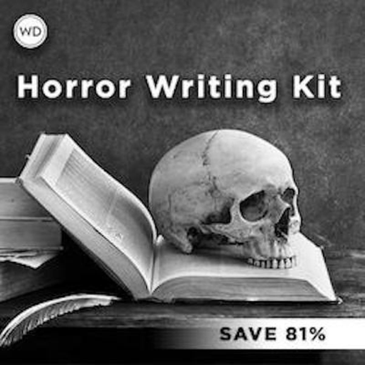 horror writing kit